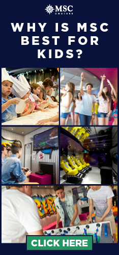 Kids Clubs Onboard MSC