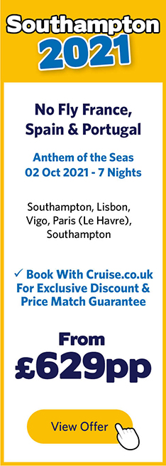 Anthem of the Seas - 2 Oct 21