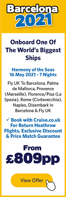 Harmony of the Seas - 16 May 21