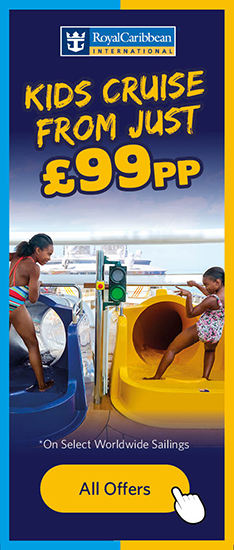 Kids Cruise From £99pp