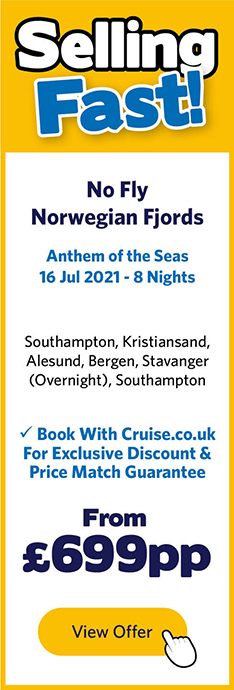 Anthem of the Seas - 16 Jul 21