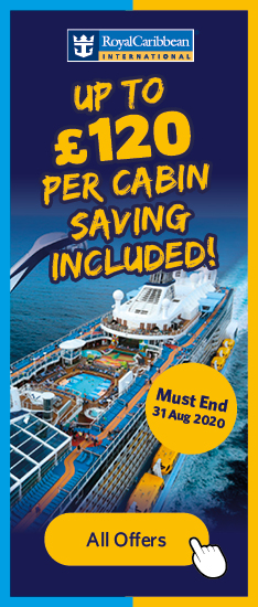 Up To £120 Per Cabin Saving Included! Must End 31 Aug 2020