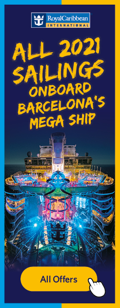 All 2021 Sailings Onboard Barcelona's Mega Ship