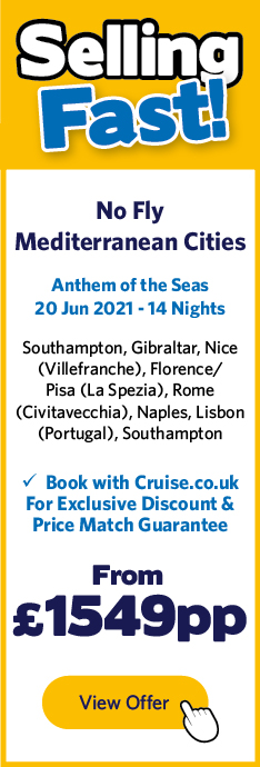 Anthem of the Seas - 20 Jun 2021 - 14 Nights