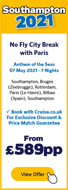 Anthem of the Seas - 7 May 2021 - 7 Nights