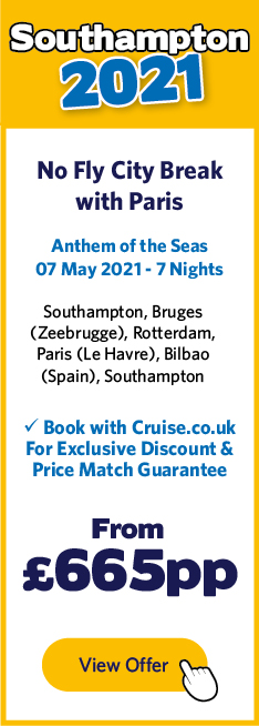 Anthem of the Seas - 7 May 21