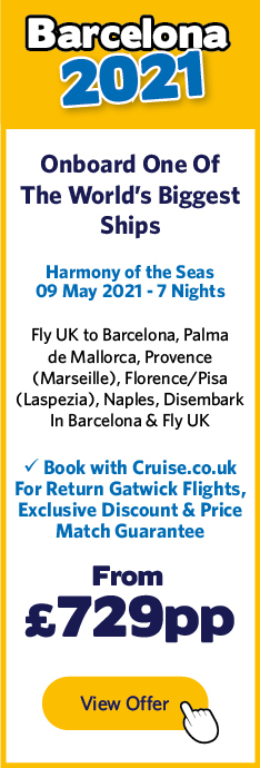 Harmony of the Seas - 9 May 21
