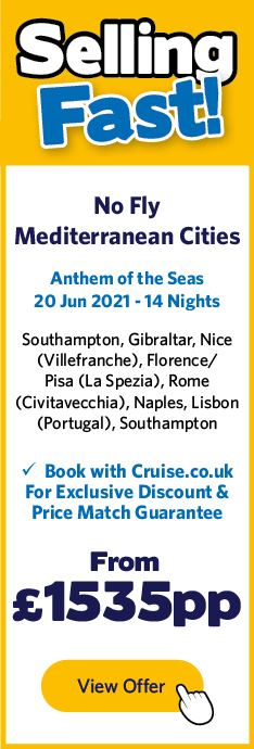Anthem of the Seas - 20 Jun 21
