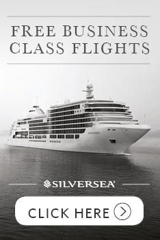 Free Business Class Flights with 6* Silversea
