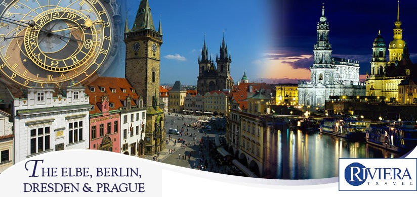 The Elbe, Berlin, Dresden & Prague