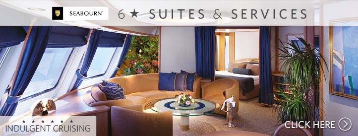6* Suites onboard Seabourn