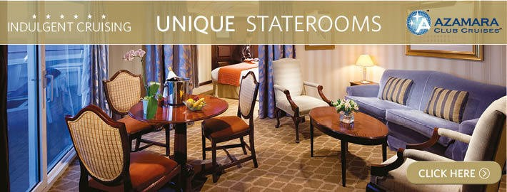 Unique Staterooms & Suites