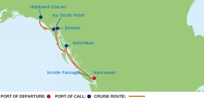 Cruise Inside Passage - Carnival Cruise Line