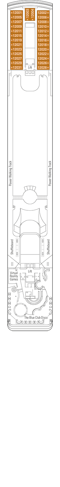 Rossini Deck Plan