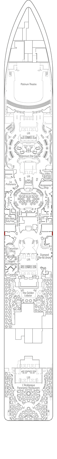 msc preziosa deck plan pdf