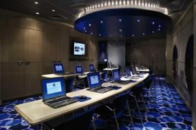 Computer Room onboard the Celebrity Century | ,