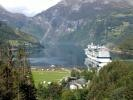 Celebrity Eclipse in Geiranger September 2014