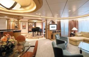A Royal Suite Onboard Adventure of the Seas | ,