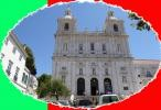 The Church of St. Vincent in the Alfama district of Lisbon on 23rd July 2015