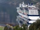 Celebrity Eclipse in Geiranger