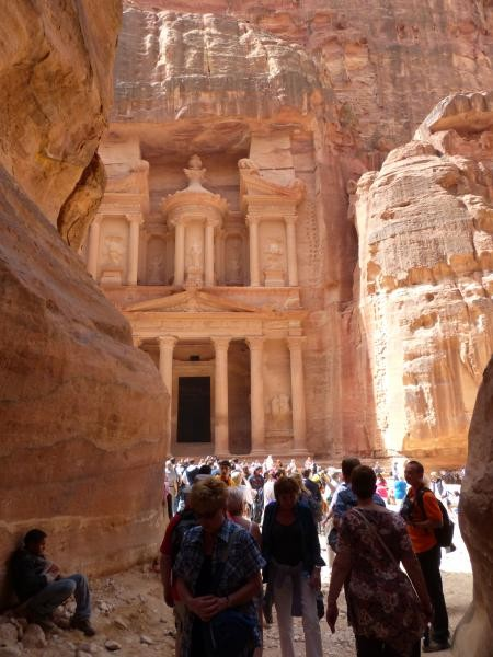 The first view of Petra