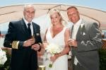 Our amazing wedding onboard Celebrity Reflection 2013