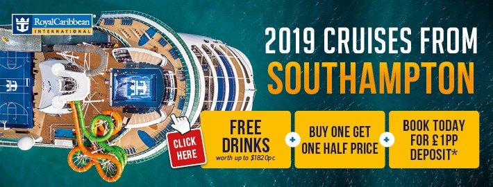 Royal Caribbean Cruises with Free Drinks