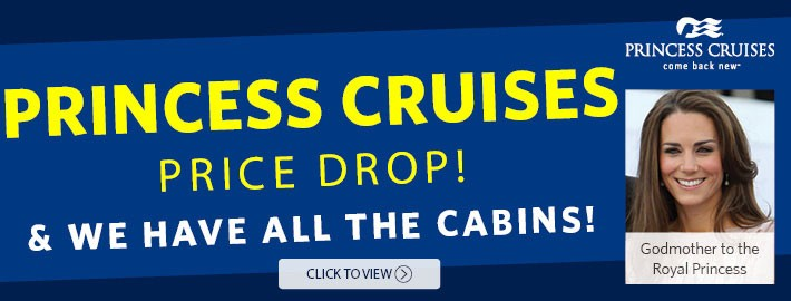 Princess Cruises Price Drop & We Have All The Cabins