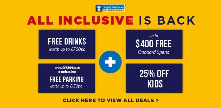 Free Drinks Royal Caribbean