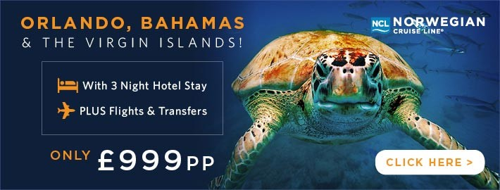 Orlando, Bahamas and The Virgin Islands From £949pp