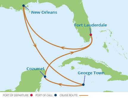 New Orleans, Louisiana Cruise Port, 2019 and 2020 Cruises ...