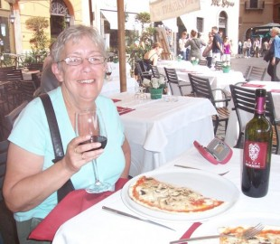 Lunch in the Piazza Navona