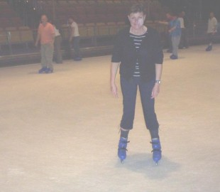 Great ice rink and didnt fall down either