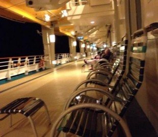Deck 4  many a lovely night spent chatting to fellow passengers here