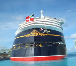 Disney Wonder at Bahamas