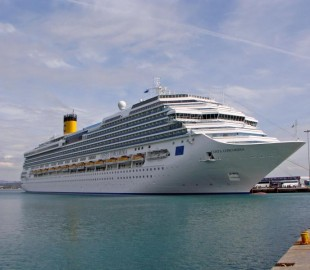 Costa Concordia in Eastern Med
