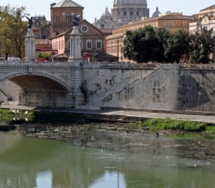 St Peters over the Tiber in the Eternal City.