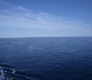 A very blue and calm english channel
