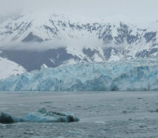 The awesome Hubbard Glacier