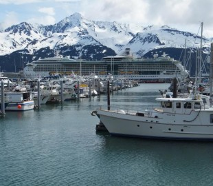 Radiance of the seas in Alaska