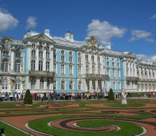 Catherines Palace St Petersburg