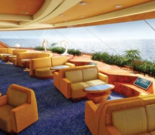 MSC Fantasia Observation Lounge