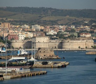 Civitavecchia harbour