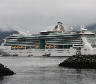 Serenade of the Seas at Sitka, Sept 2009