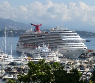 Carnival Breeze in Monaco