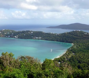 Beautiful view of Magen's Bay, St. Thomas