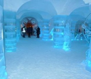Ice Hotel near Alta Feb 14