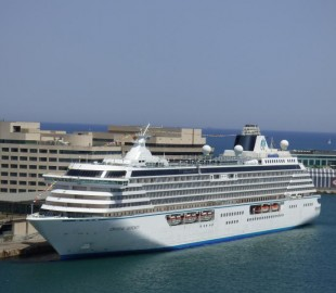 The magnificent Crystal Serenity