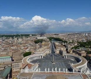 From the top of  St  Peters