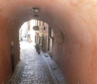 The old part of Stockholm, intriguing